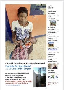 Colecta Misionera 23/08/2020